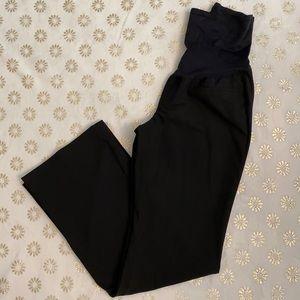 Gap Maternity Stretch Modern Boot Black Pant